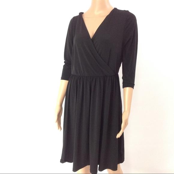 f81da75a727 Lane Bryant Women Dress Fit   Flare Swing 10 Black